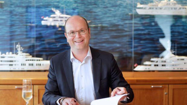 DE BEELDREDAKTIE / PETER STRELITSKI T.B.V PERSBERICHT ROYAL VAN LENT ROYAL VAN LENT, DE KAAG D.D. 26.05.2016 contractondertekening Havenbedrijf Amsterdam - Royal Van Lent