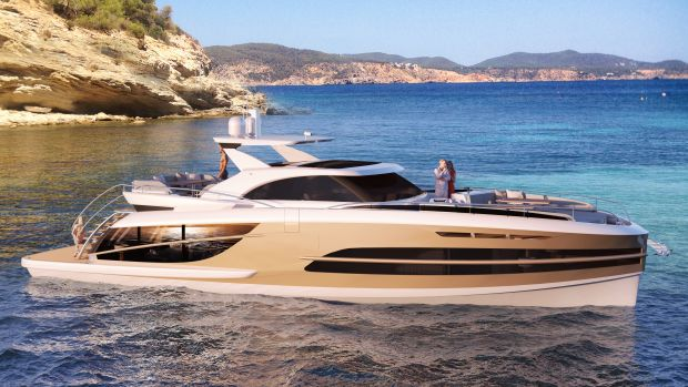 VAN DER VALK BeachClub 600 - Side view