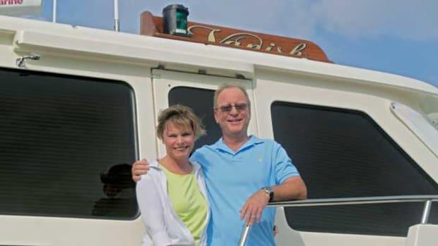 Owners Vicki and Maynard Smith