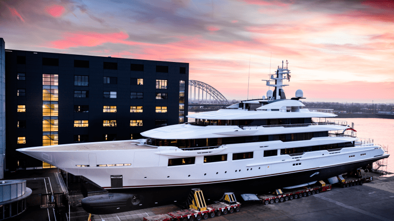 Oceanco's 33rd Launch in 33 Years