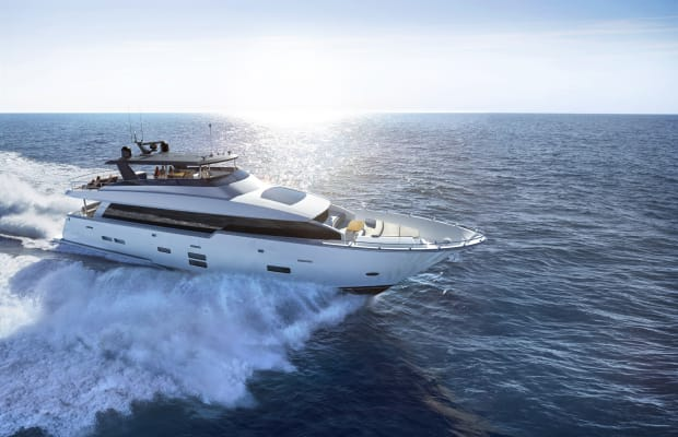 Yacht Review   Hatteras 90
