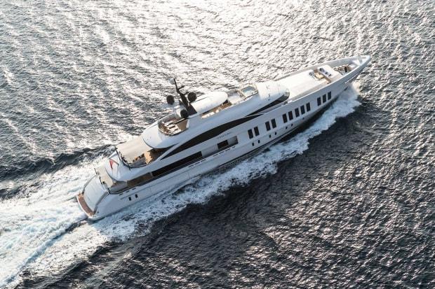 Alia Yachts' 197-foot (60-meter) Samurai will be making her