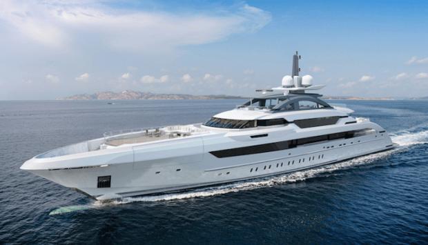 Mega Yacht Project Kometa - Image credit to Heesen Yachts