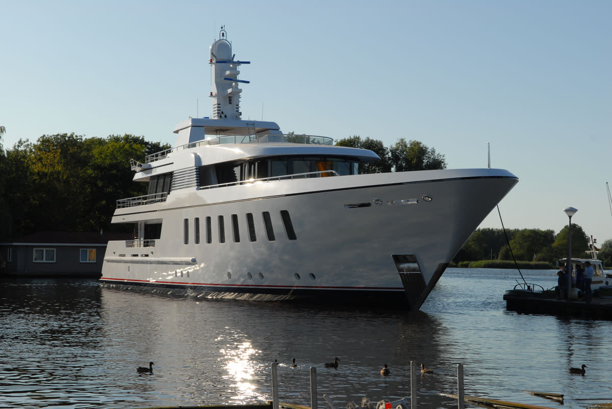 Feadship's Helix
