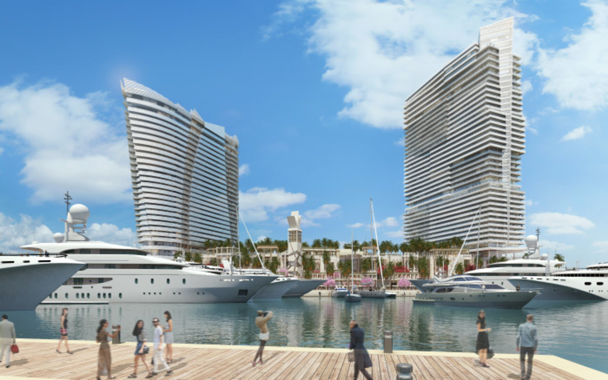 Island Gardens Deep Harbour, the new superyachts venue