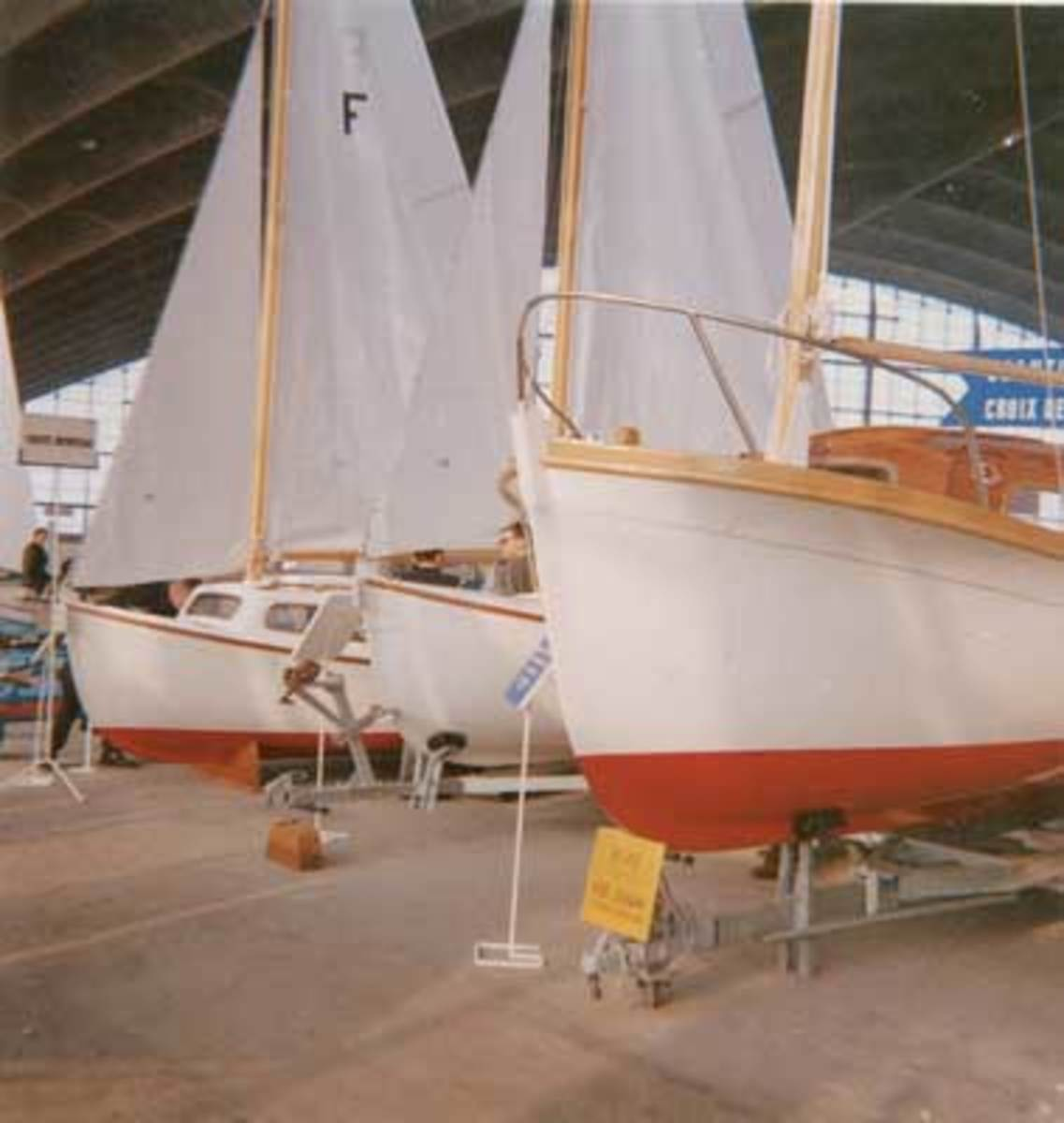 At the Beneteau yard