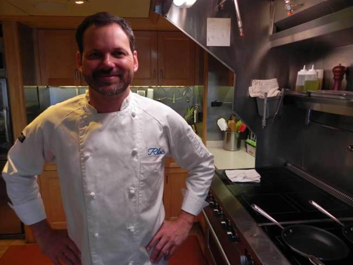 Chef Brent Ryals, M/Y RHINO