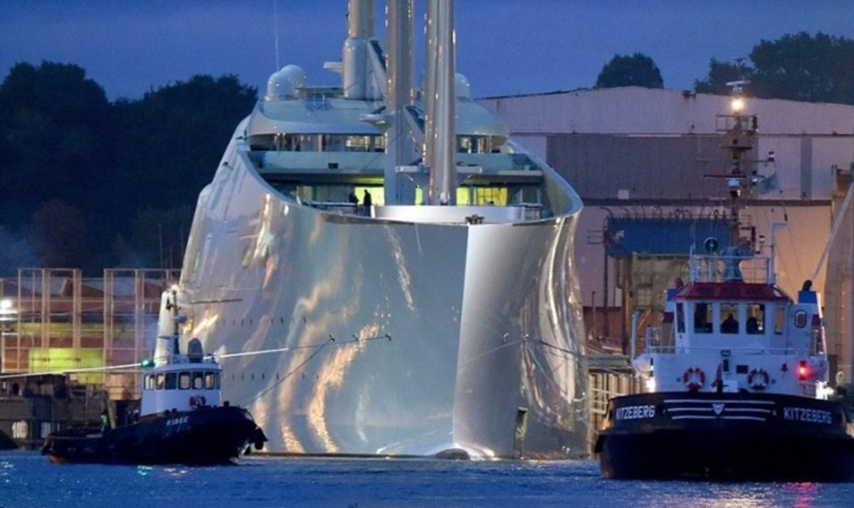 Video And Photos Of Nobiskrug Sailing Yacht A