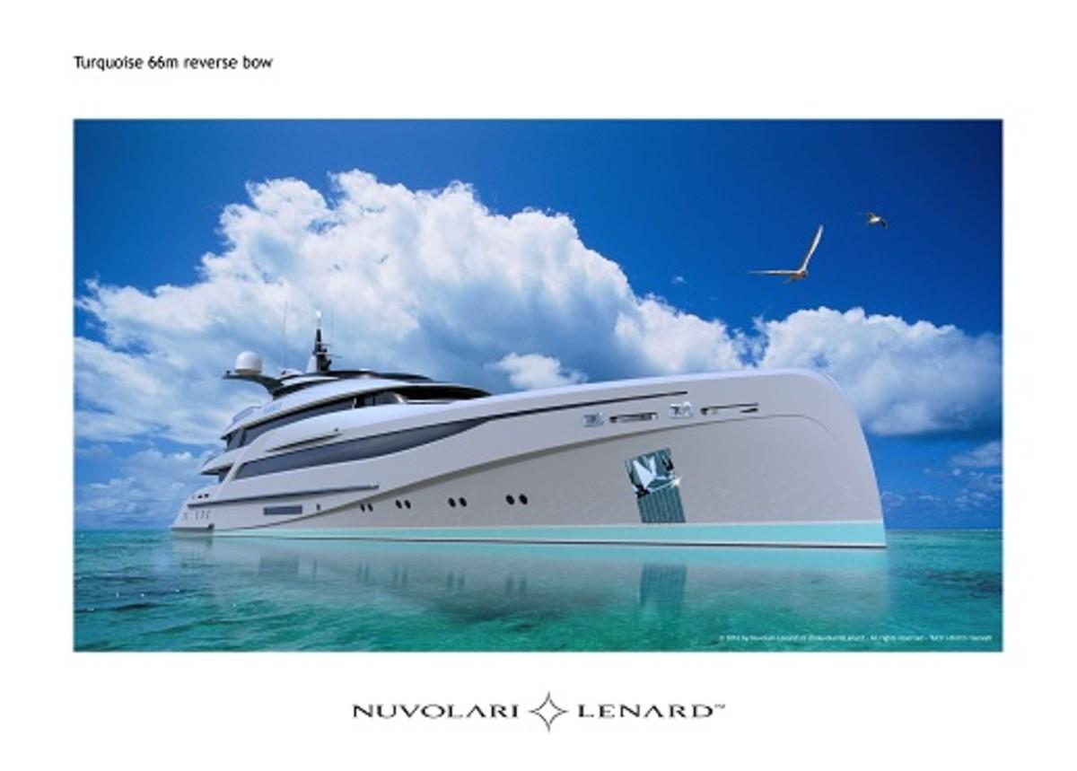 Nuvolari Lenard 66m Motoryacht for Turquoise Yachts, July 2016