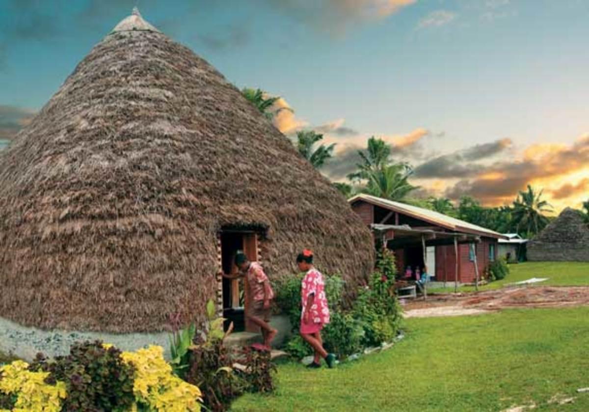 A family home on Lifou