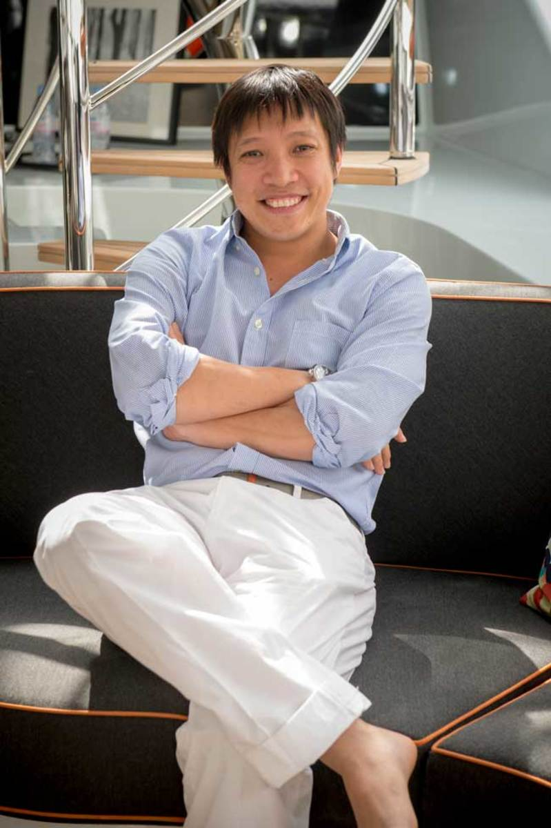 Ocean Paradise designer and owner Adrian Lee