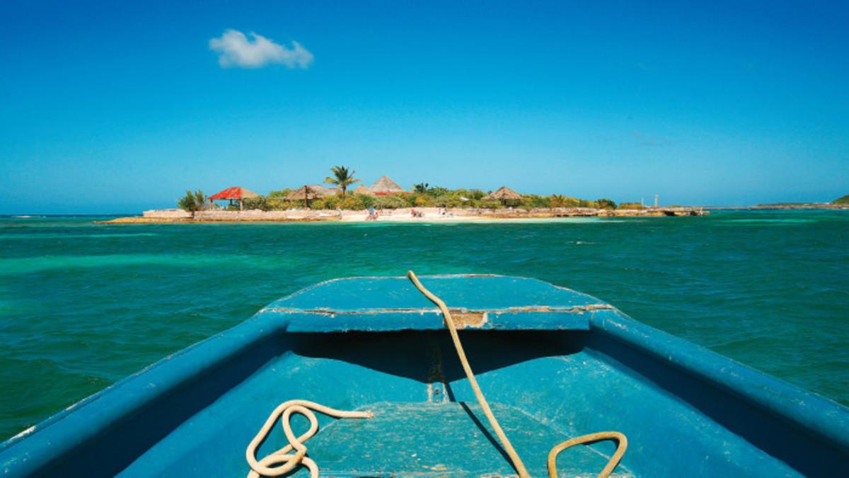 Scilly Cay, near Anguilla