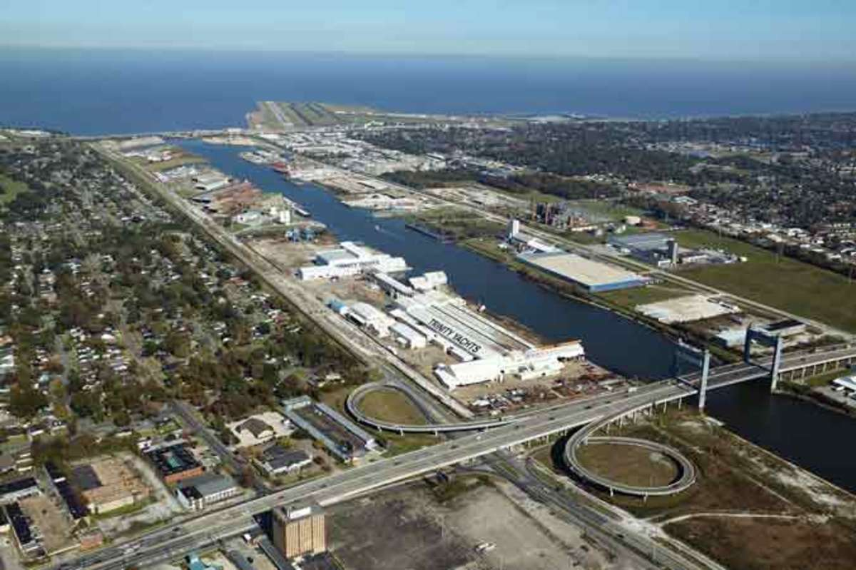 Trinity Shipyard in New Orleans