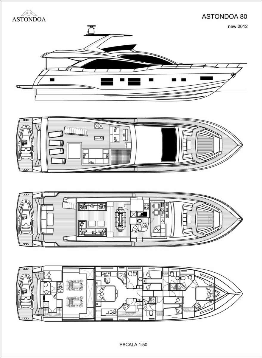 Astondoa 80 GLX Layout A