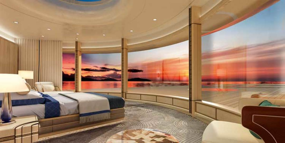 Project Tomorrow owner's stateroom