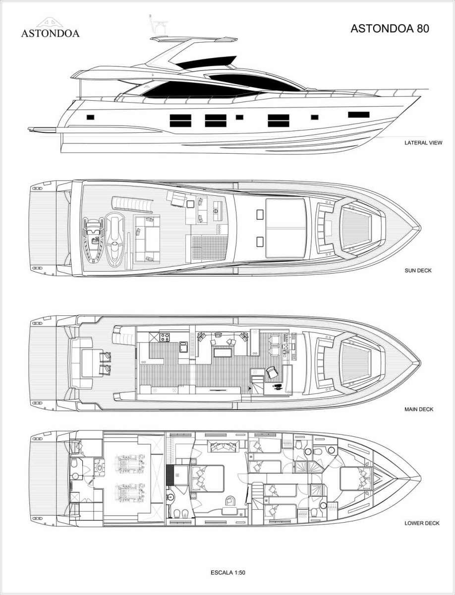 Astondoa 80 GLX Layout B