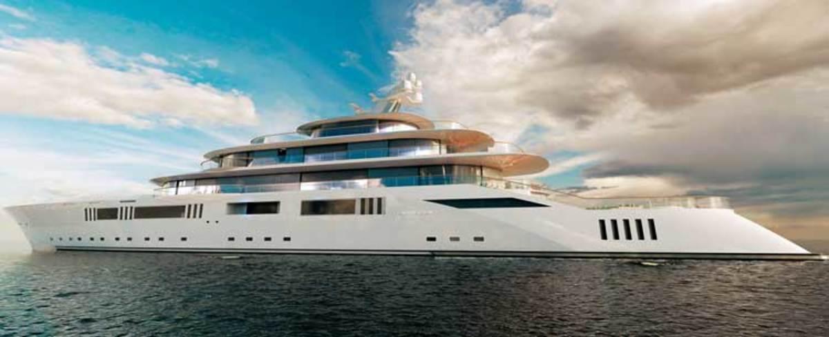 Pride Mega Yachts' 357-foot Project Tomorrow