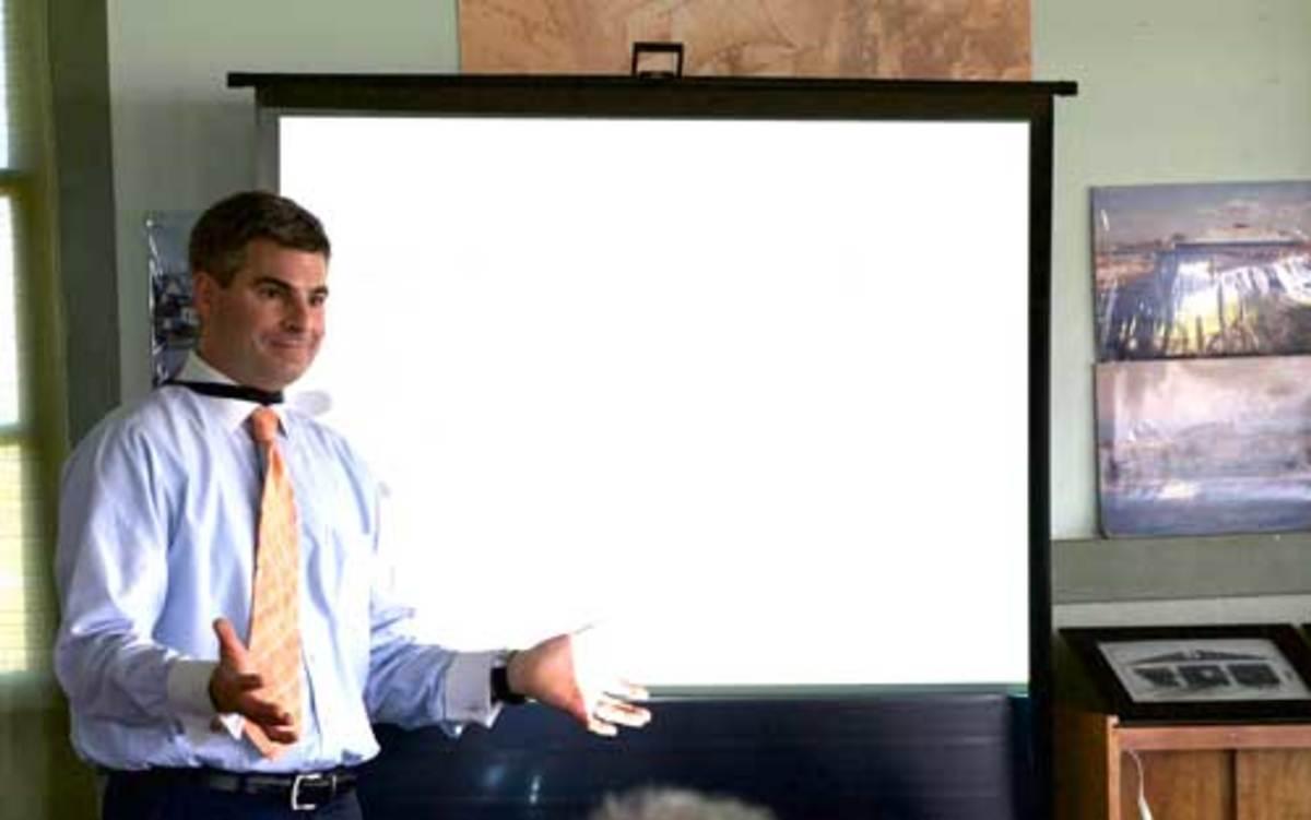 Maritime attorney Todd Lochner
