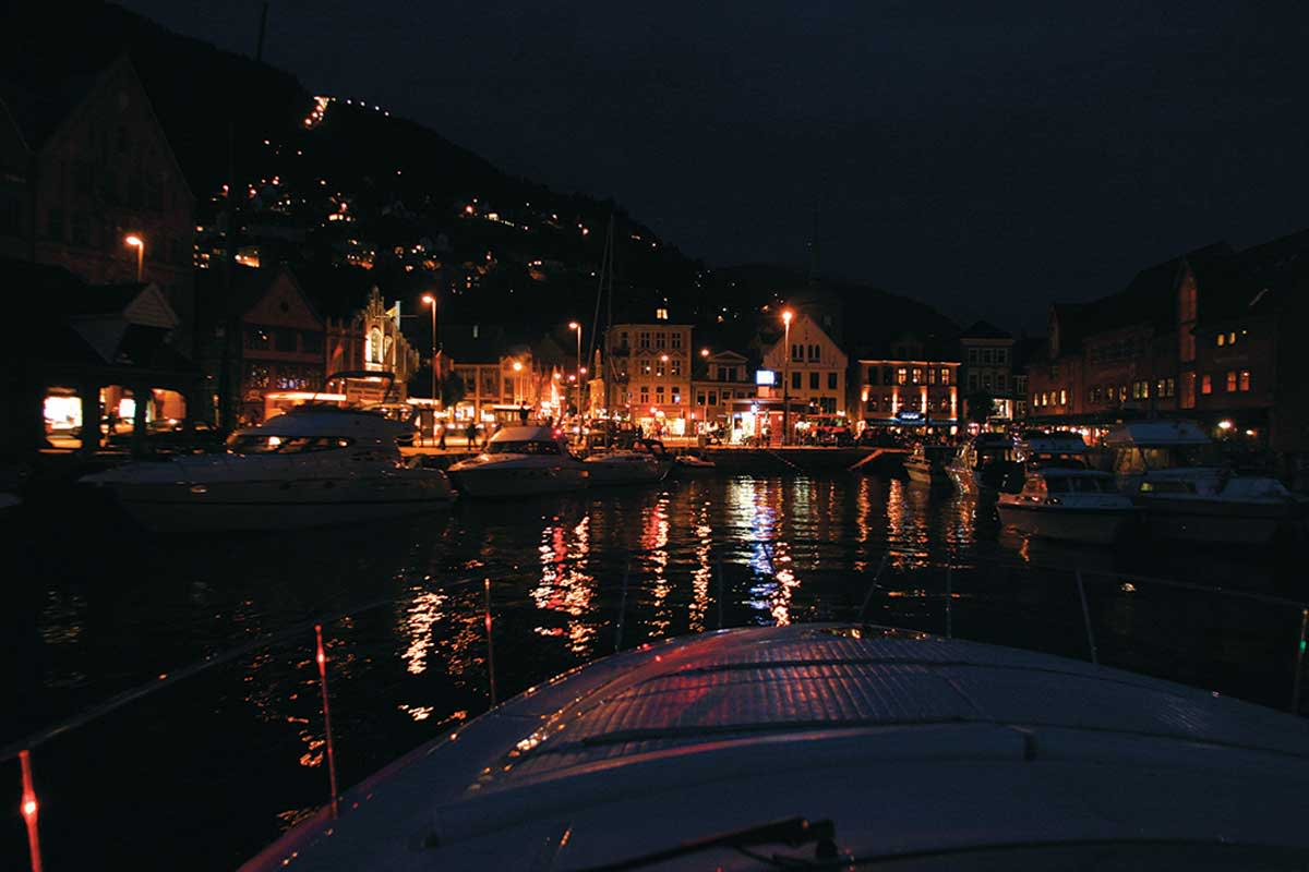 Norway-Late-Evening-in-Bergen