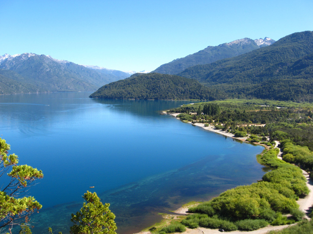 Puelo Lake, Argentina