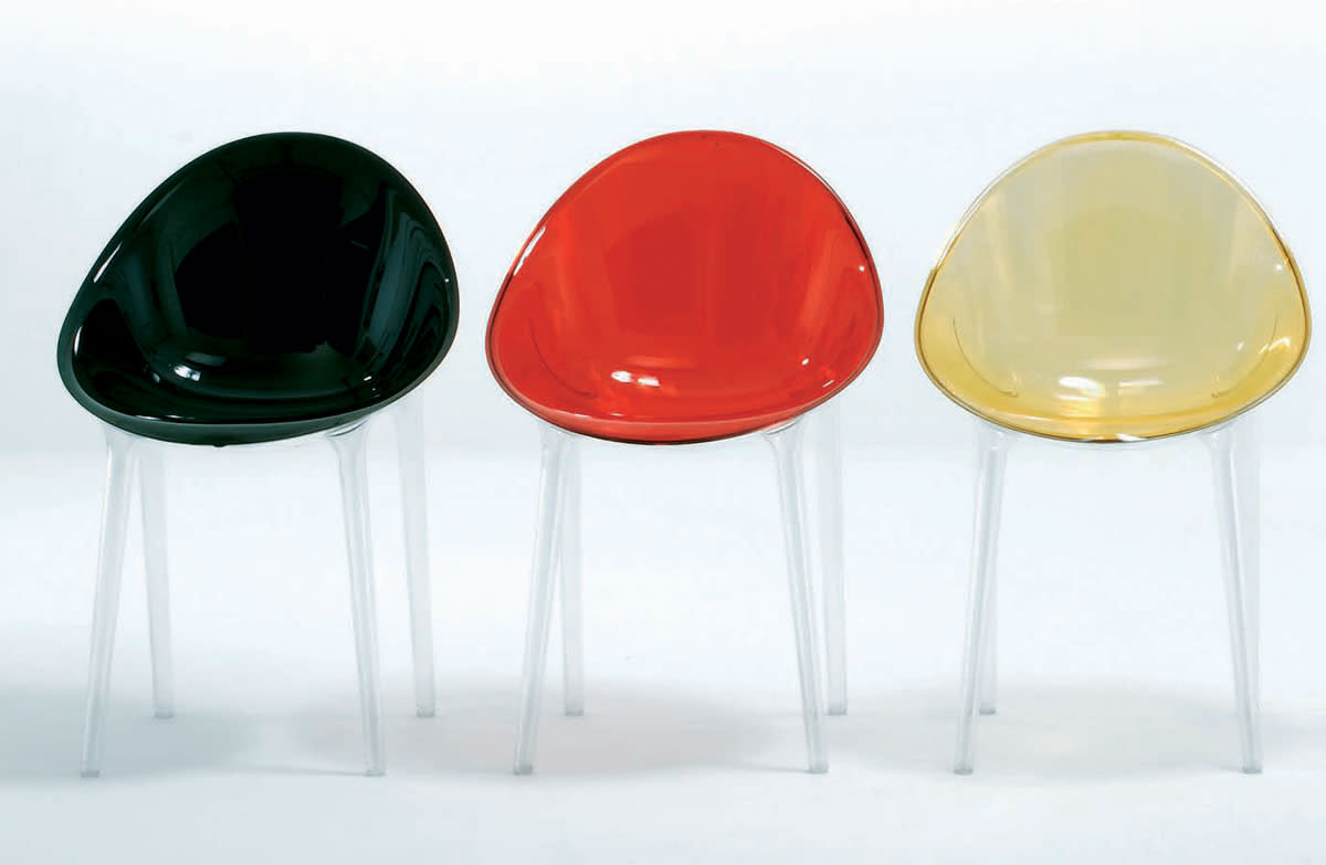 Starck's Mr Impossible Chair design for Kartell