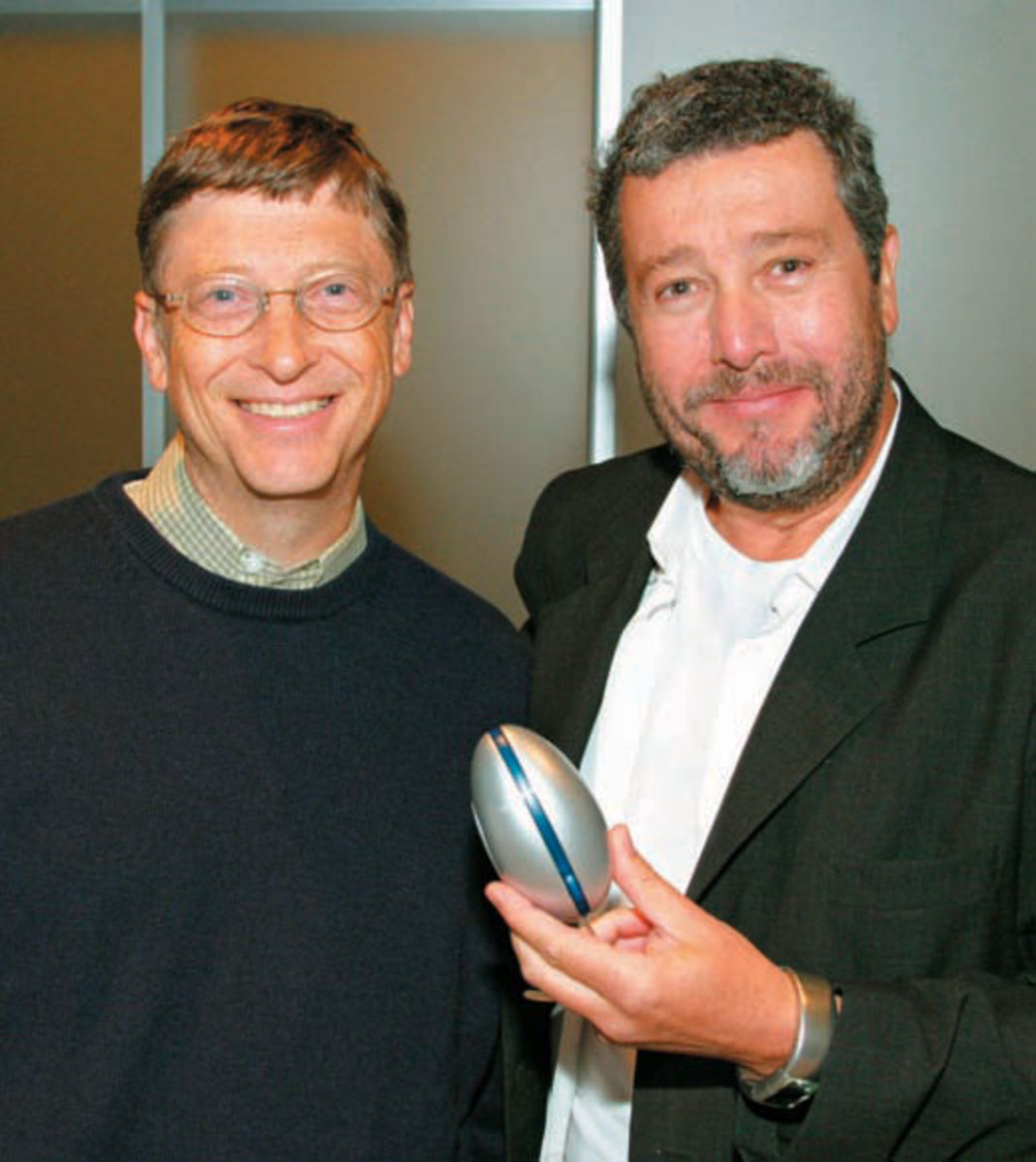 Bill Gates and Philippe Starck