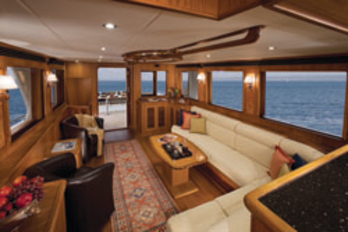Outer Reef 70 Interior