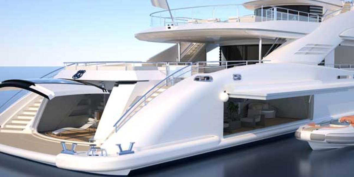 ISA Yachts' concept Route 66