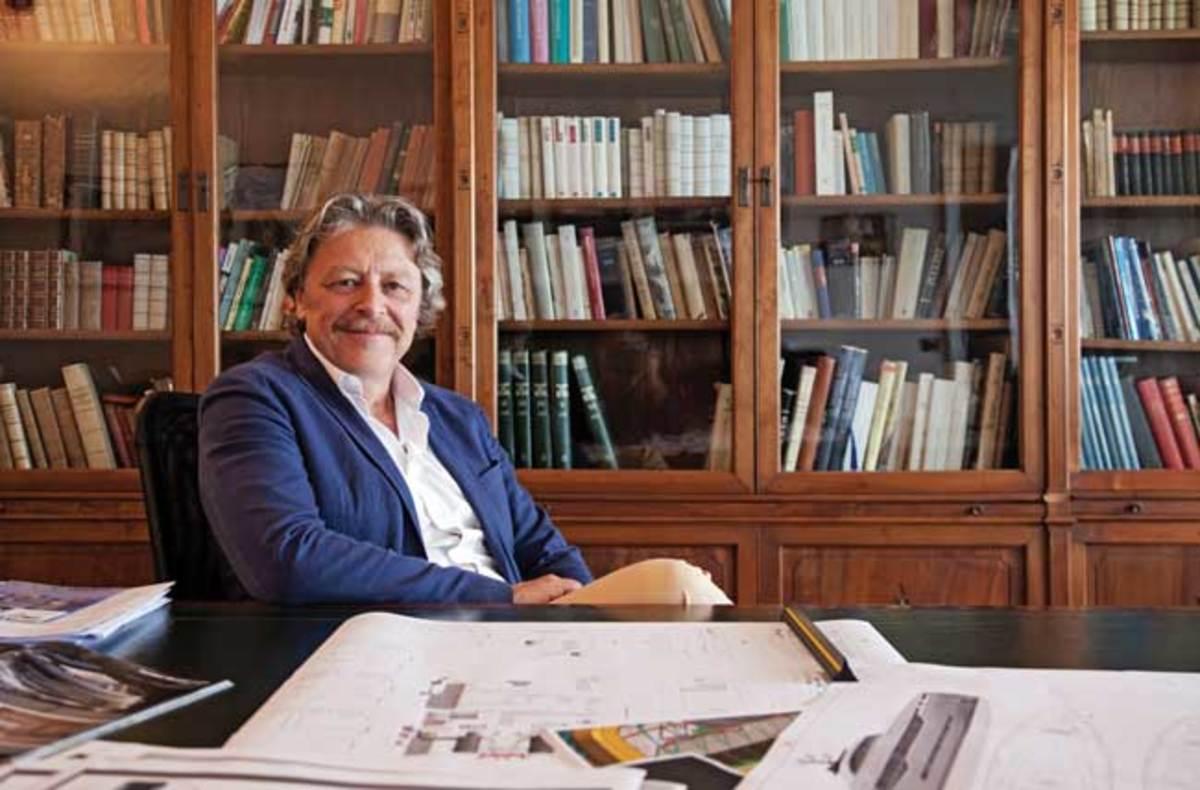 Naval architect Sergio Cutolo