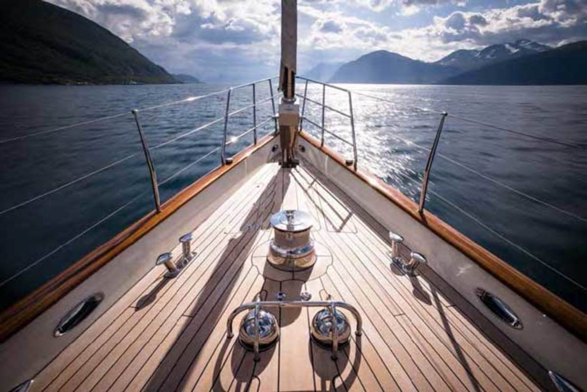 Royal Huisman WISP photo by Cory Silken