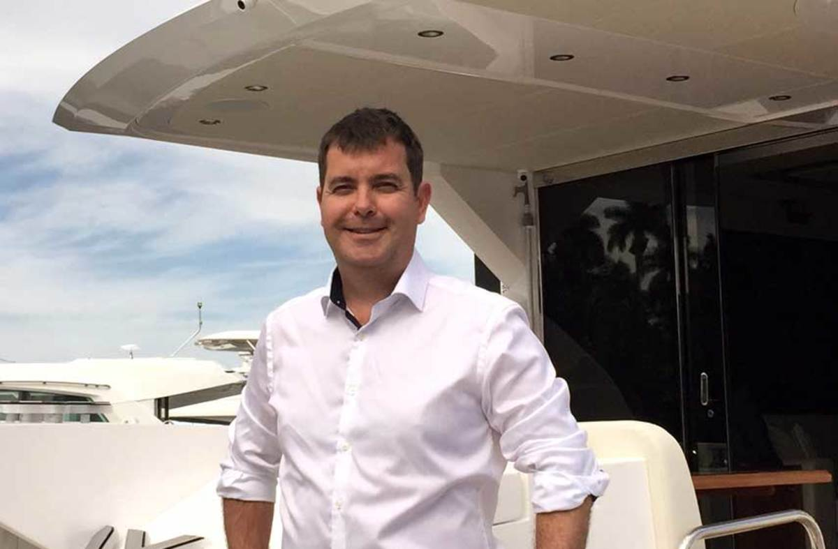 Steve Leeson, new VP of Sunseeker USA
