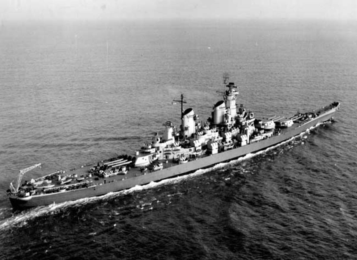 As part of that service, she ferried FDR's senior staff to the battleship USS Iowa, where they joined the president for a momentous journey to Tehran.