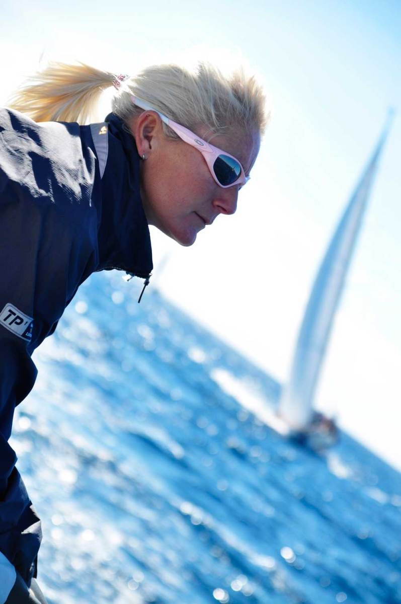 Tamsin Seabright, founder of Yacht Gopher, provides a concierge service specifically for the owners of racing yachts.