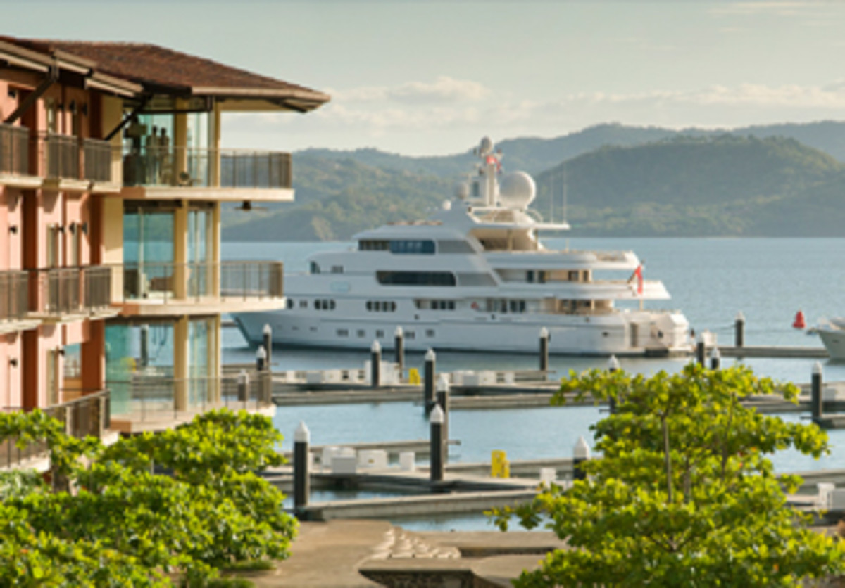 A new destination -- five-star Marina Papagayo.