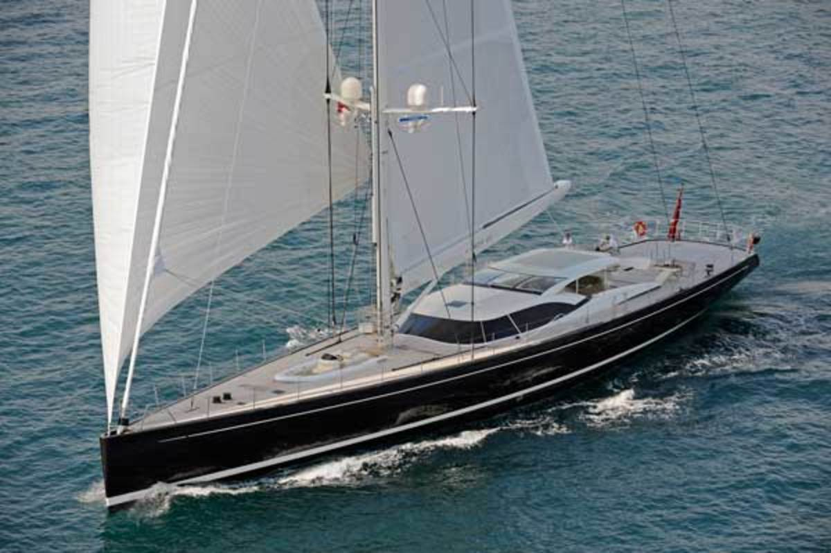 Vitters' LADY B is built to handle the region's windiest days with comfort underway.