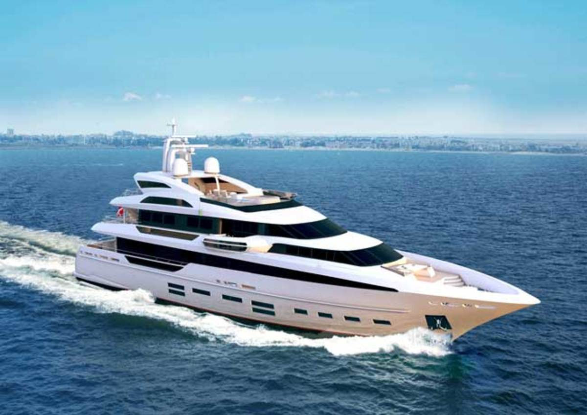 Danish Yachts' QuadraDeck concept