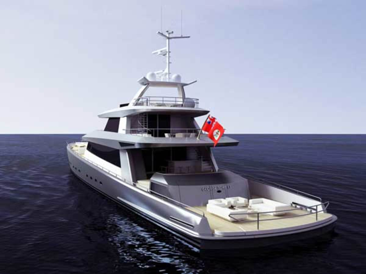 The Sportfisherman superyacht concept