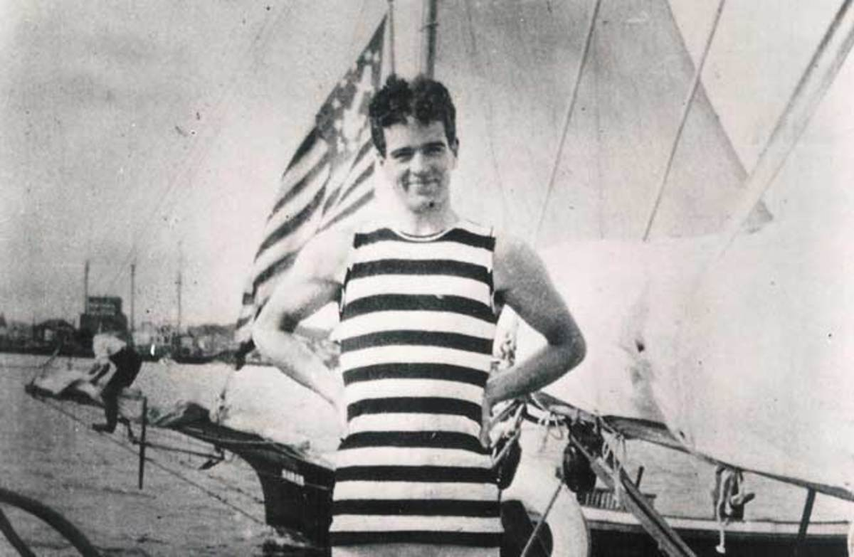 "Focused, athletic and fascinated by all kinds of transportation, young ""Willie K"" was planning ocean voyages while racing sailboats at Newport."