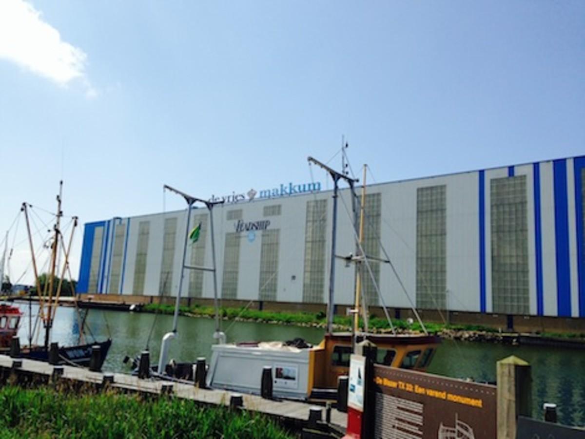 Feadship's de Vries Shipyard in Makkum