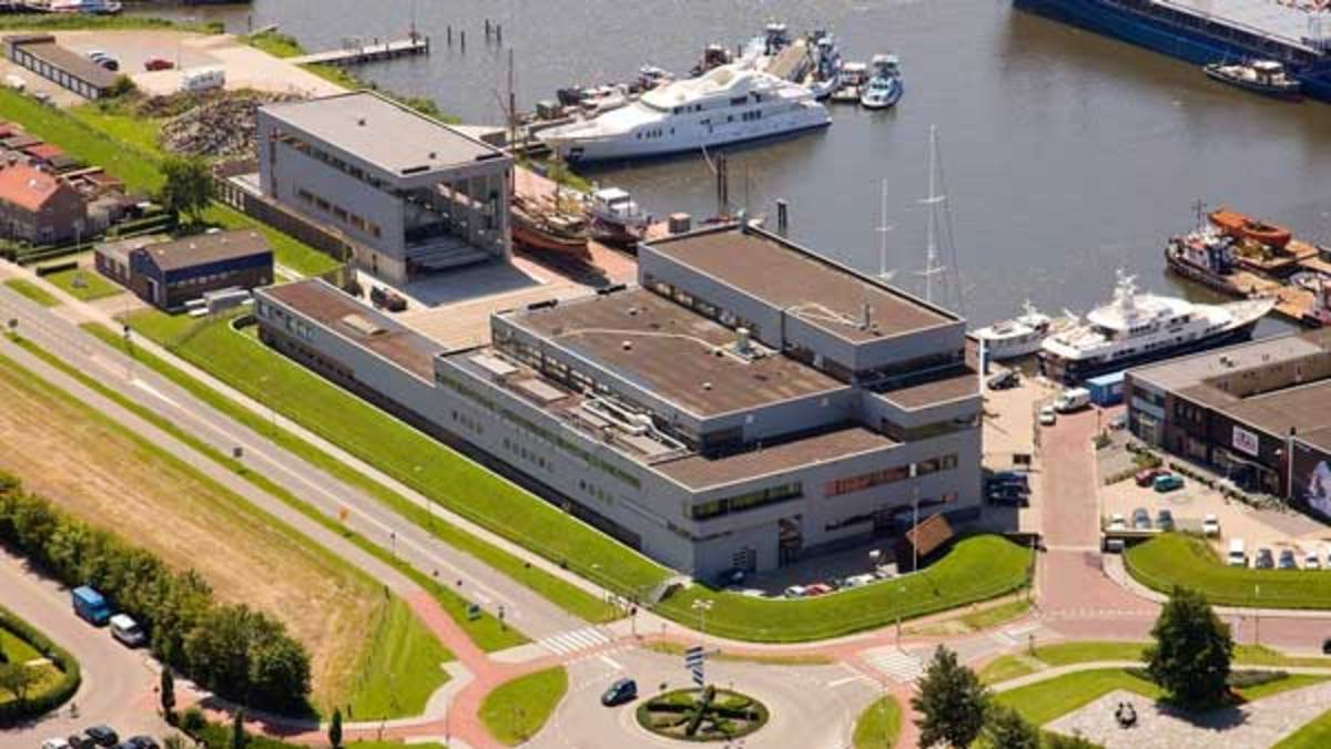 Balk Shipyard in Urk