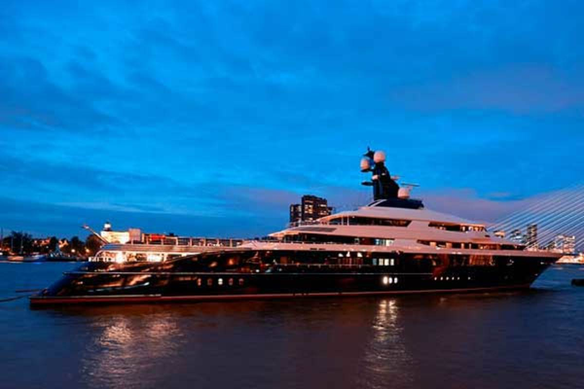 Oceanco's latest launch, Equanimity (formerly known as Y709)