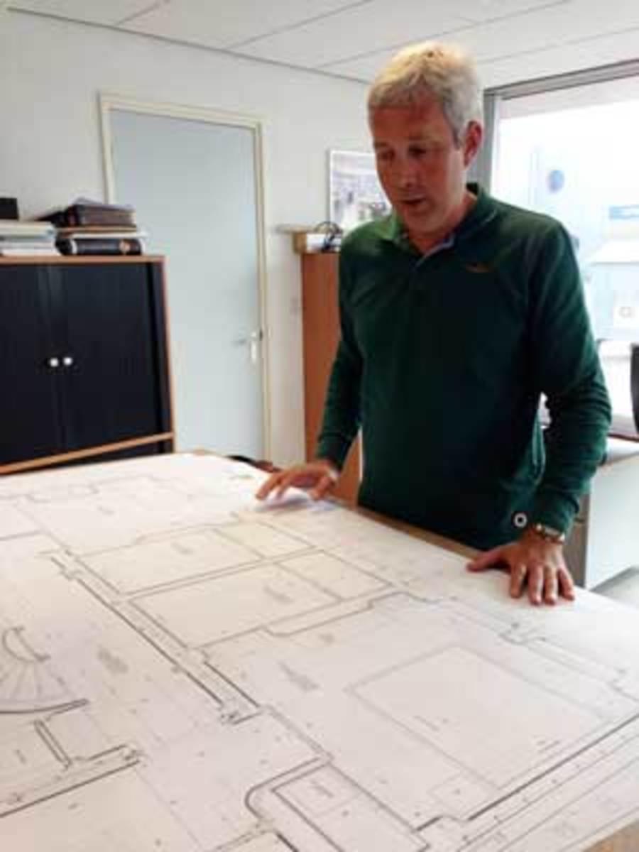 Albert Hakvoort, Jr. discusses future plans at the yard