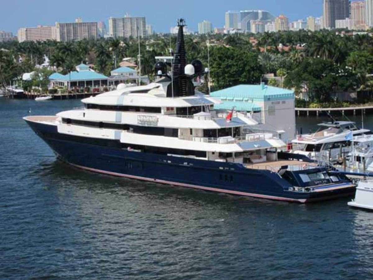 282-foot Oceanco SEVEN SEAS in Fort Lauderdale