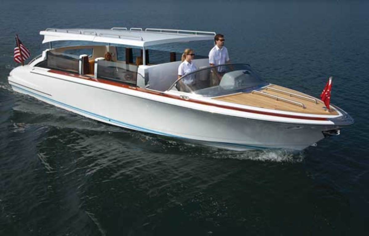 Oceans 12 Hodgdon Limo Tenders Yachts International