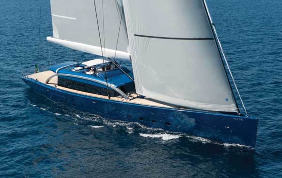 Arzana Navi launched the 158-foot (48.4-meter) sloop Nativa, designed by Bill Tripp, in Italy last summer.