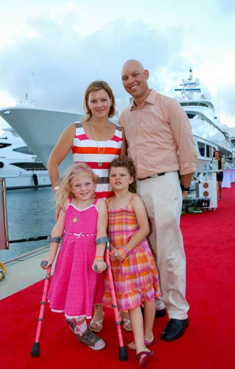 Waterway Soiree 2015—The Burgoynes family