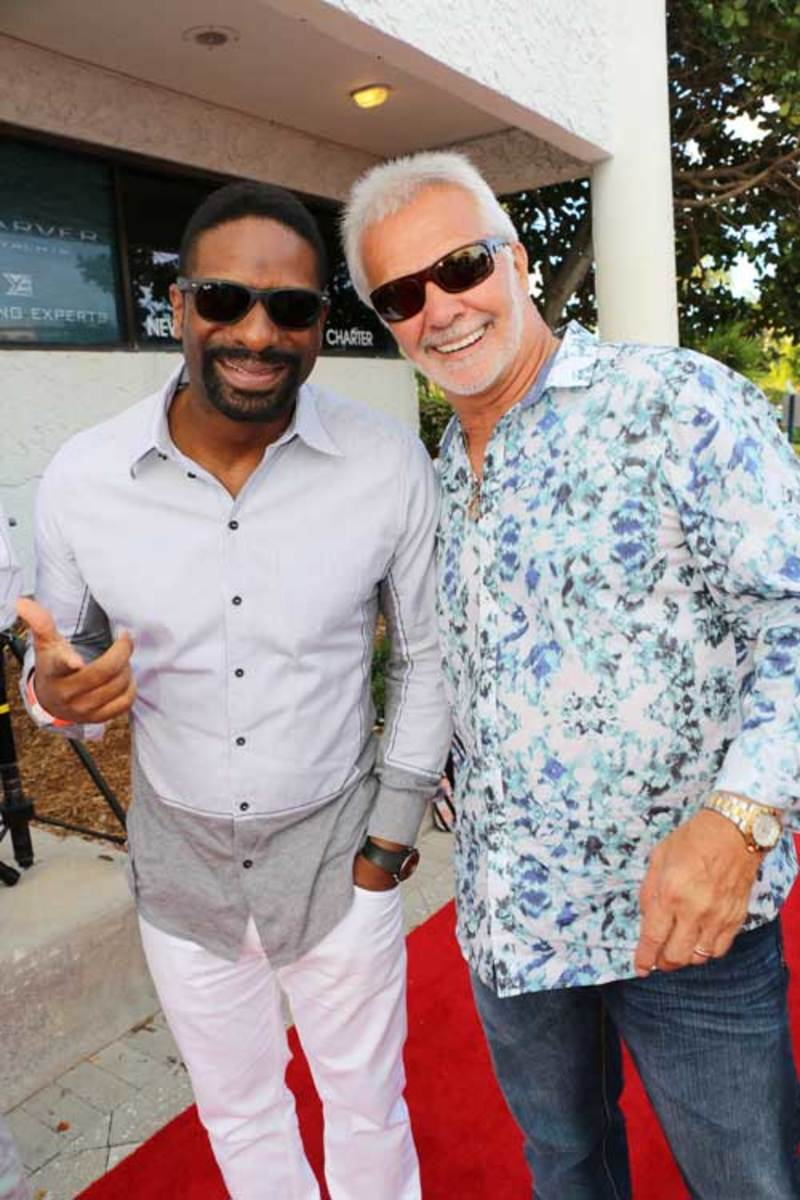 "Waterway Soiree 2015—DJ Irie and Captain Lee from Bravo TV's ""Below Deck"""