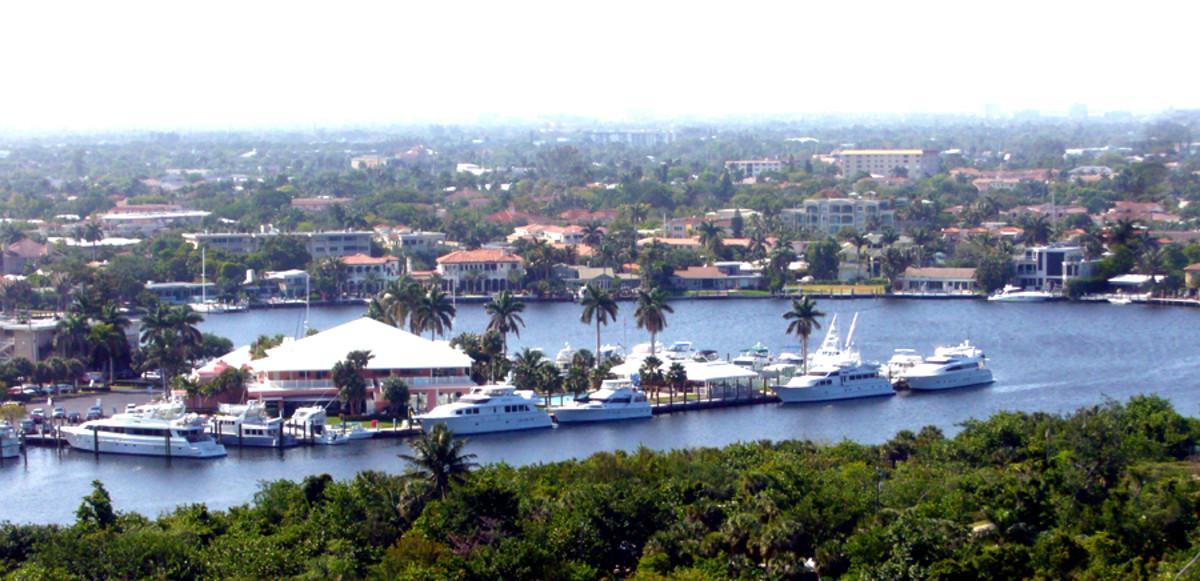 Intracoastal in Ft Lauderdale (c) Jessie Eastland