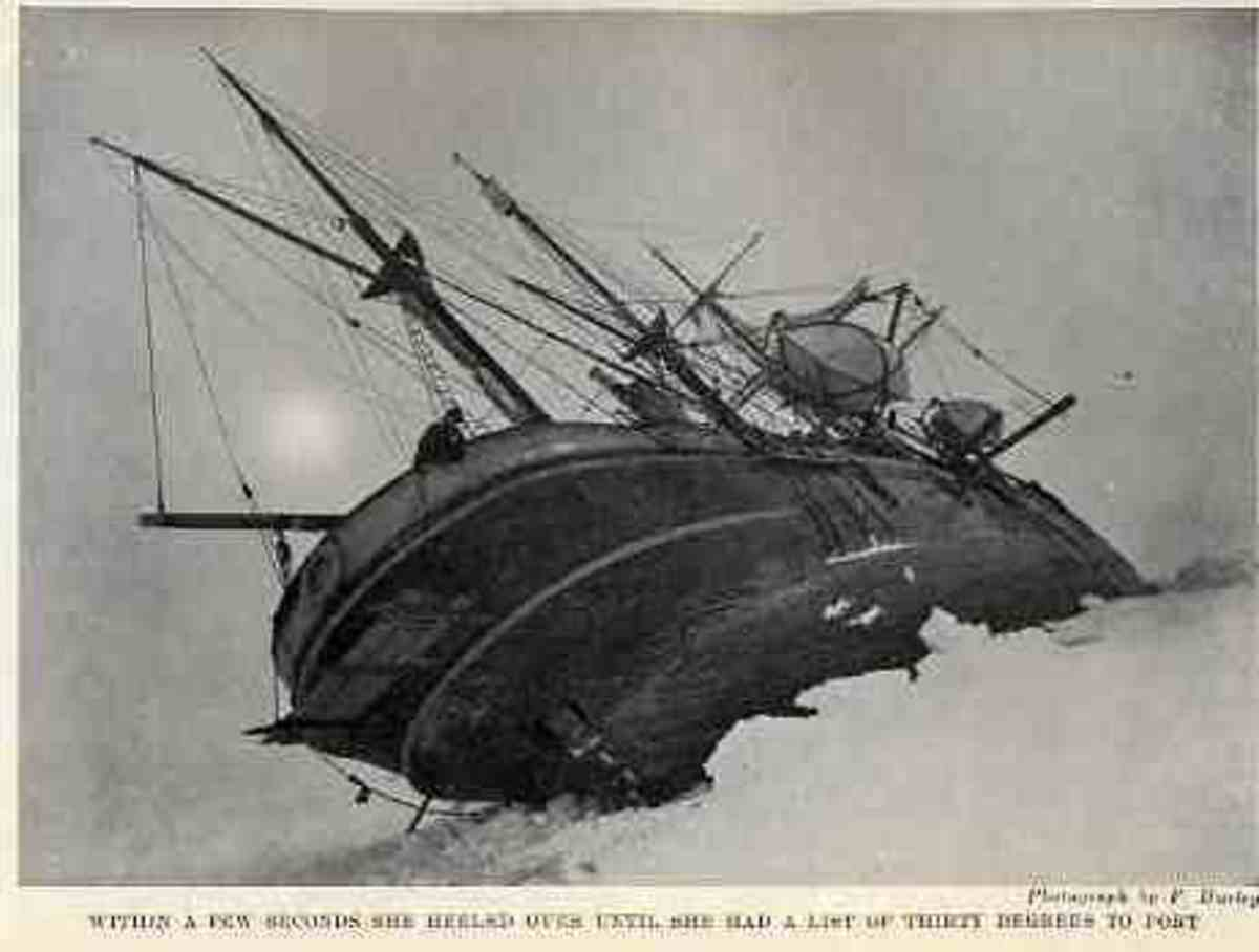 Sir Shackleton's Endurance