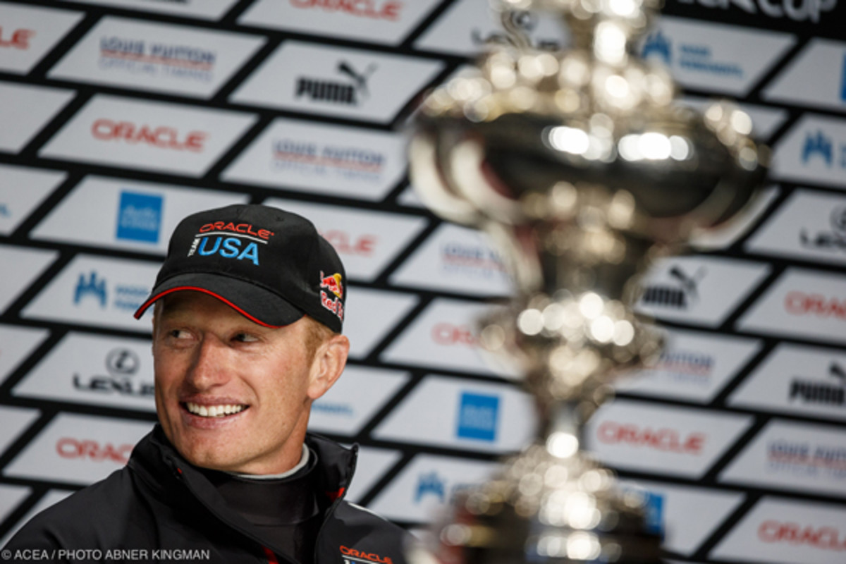 James Spithill - Photo Credit ACEA / Abner Kingman